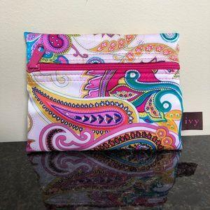 Small Paisley Cosmetic Bag